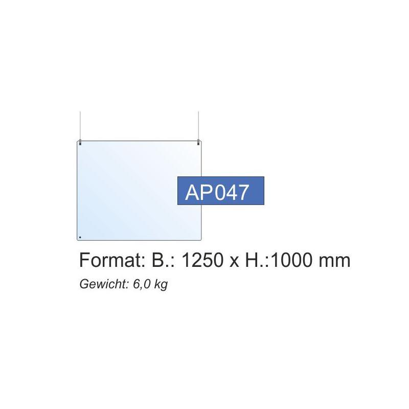 Deckenschutz, 1250x1000x4 mm