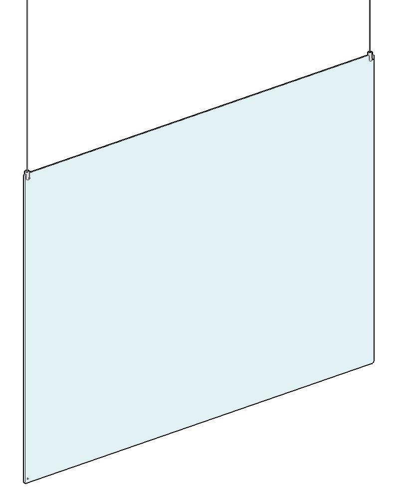 Deckenschutz, 1500x1000x4 mm