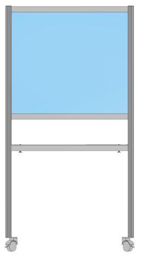 Paket Annahmestation, 180x100x40 cm