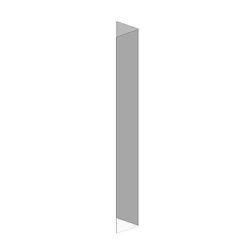 Thekenschutz Individual, Eckverbinder, 800x4 mm